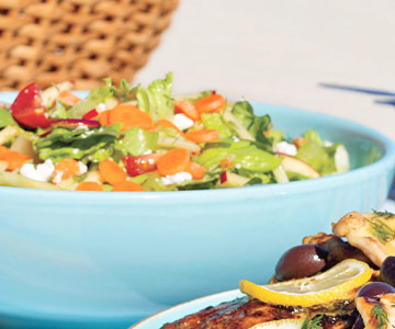 Lemon-Dill Chopped Salad