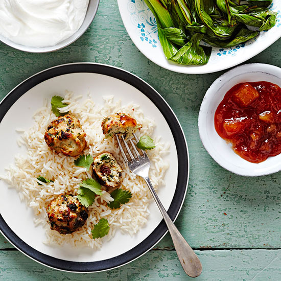 Curried Chicken Meatballs