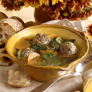 Meatball Escarole Soup