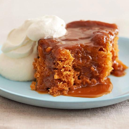 Butterscotch Pudding cake