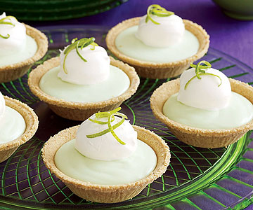 Lime Chiffon Mini Pies