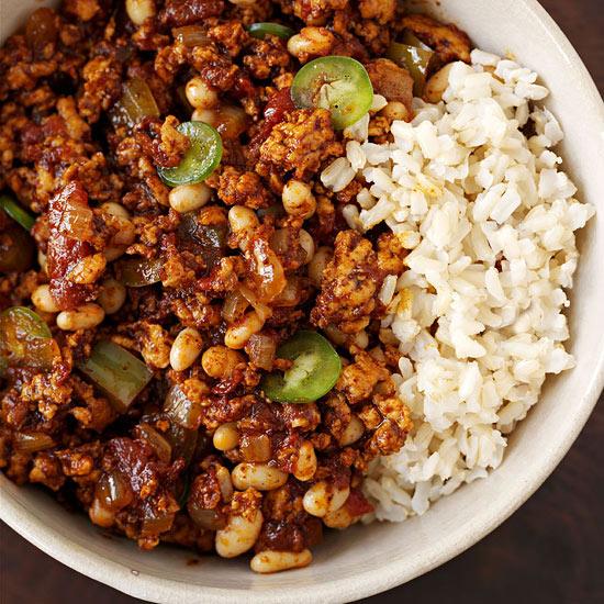 BBQ Turkey Chili