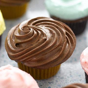 Cinnamon-Caramel Cupcakes
