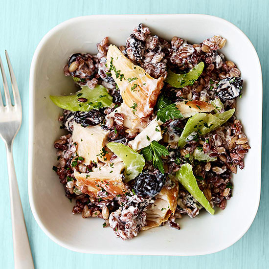 Turkey-Cherry Rice Salad