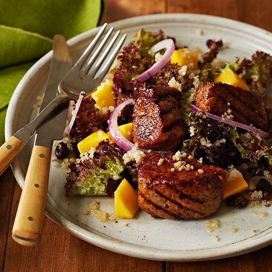 Caribbean Pork Salad