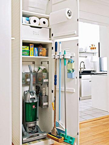 Reorganizing Your Utility Closet