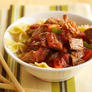 Pork Ragu with Pasta
