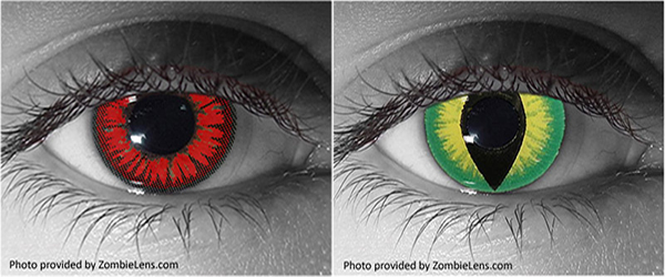 Colored Contacts for Halloween? Proceed with Caution