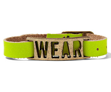 W.E.A.R. (We Each Are Responsible) Project Bracelet
