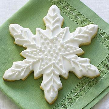 Citrus Snowflakes