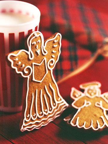Molasses Angel Cookies