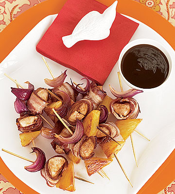Maple-BBQ-Bacon Skewers