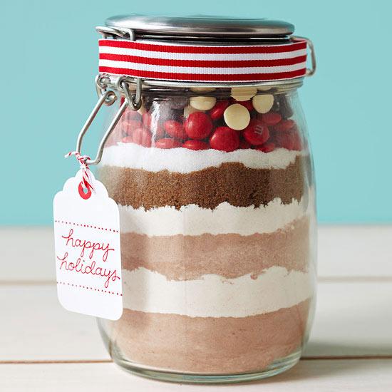 Layered Chocolate Cookie Mix