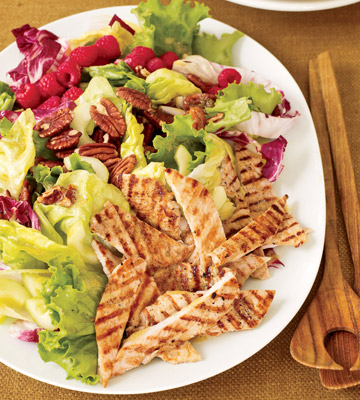 Grilled Turkey Salad