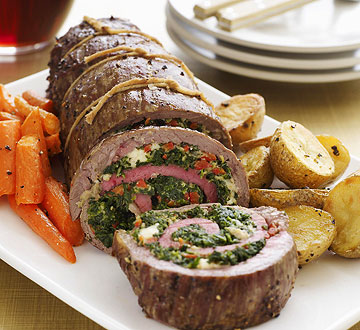 Cooking School: Stuffed Flank Steak