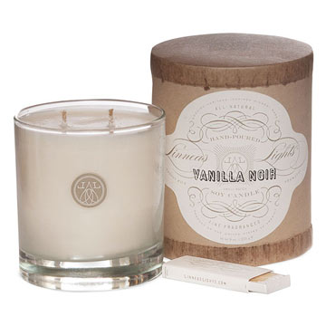 Linnea's Lights Vanilla Noir Candle