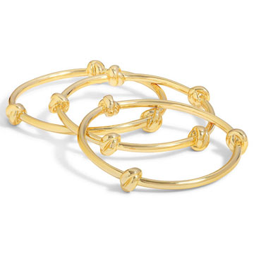 C. Wonder Love Knot Bangles