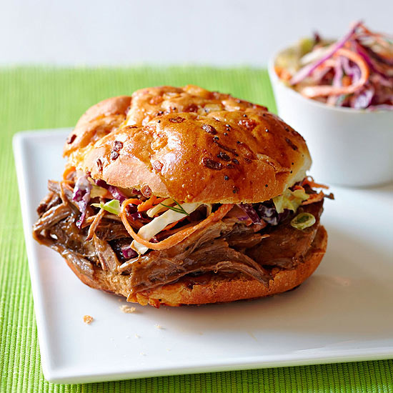 Slow Cooker Sandwiches: BBQ Beef Brisket & More