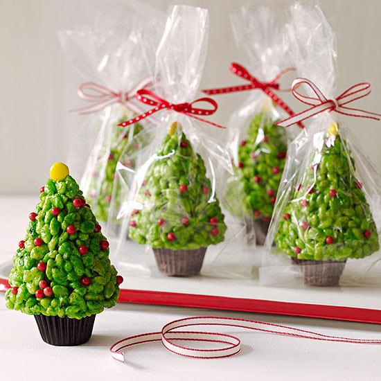 Rice Krispie Treats Christmas Tree.Rice Krispies Trees
