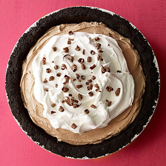 Milk Chocolate Icebox Pie