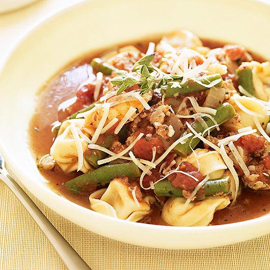 Sausage & Tortellini Stew