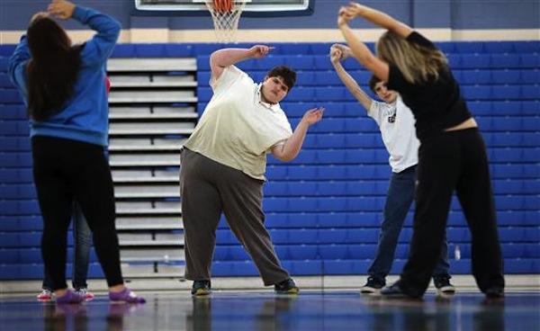 School Community Unites to Help 510-Pound Teen Get Healthy