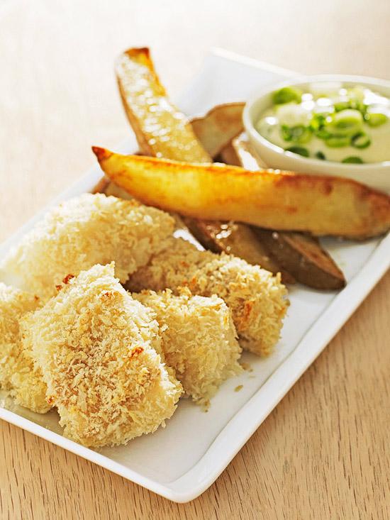 Panko Fish Nuggets