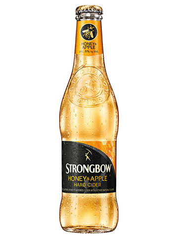 Hard Cider Pairing: Strongbow Gold Apple Hard Cider