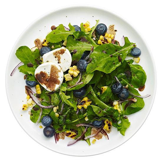 Arugula, Blueberry and Corn Salad
