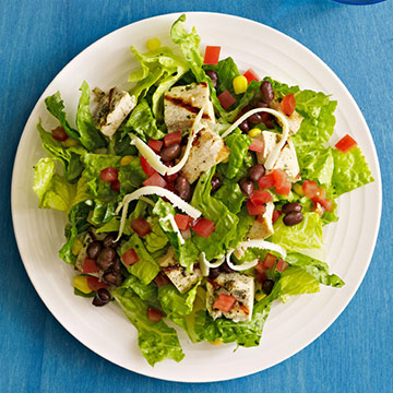 Mexican Grilled Chicken Salad