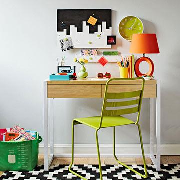 DIY: Perfect Homework Desk