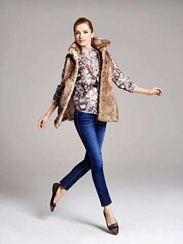 Women's Fall Fashion Trends: Faux Fur and Punchy Prints