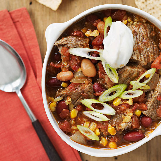Slow-Cooker Tex-Mex Beef Taco Stew