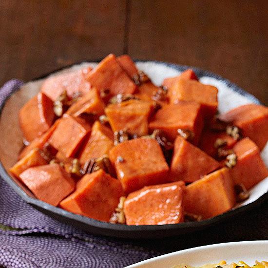 Honeyed Sweet Potatoes