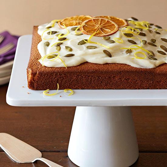 Spiced Olive Oil Cake