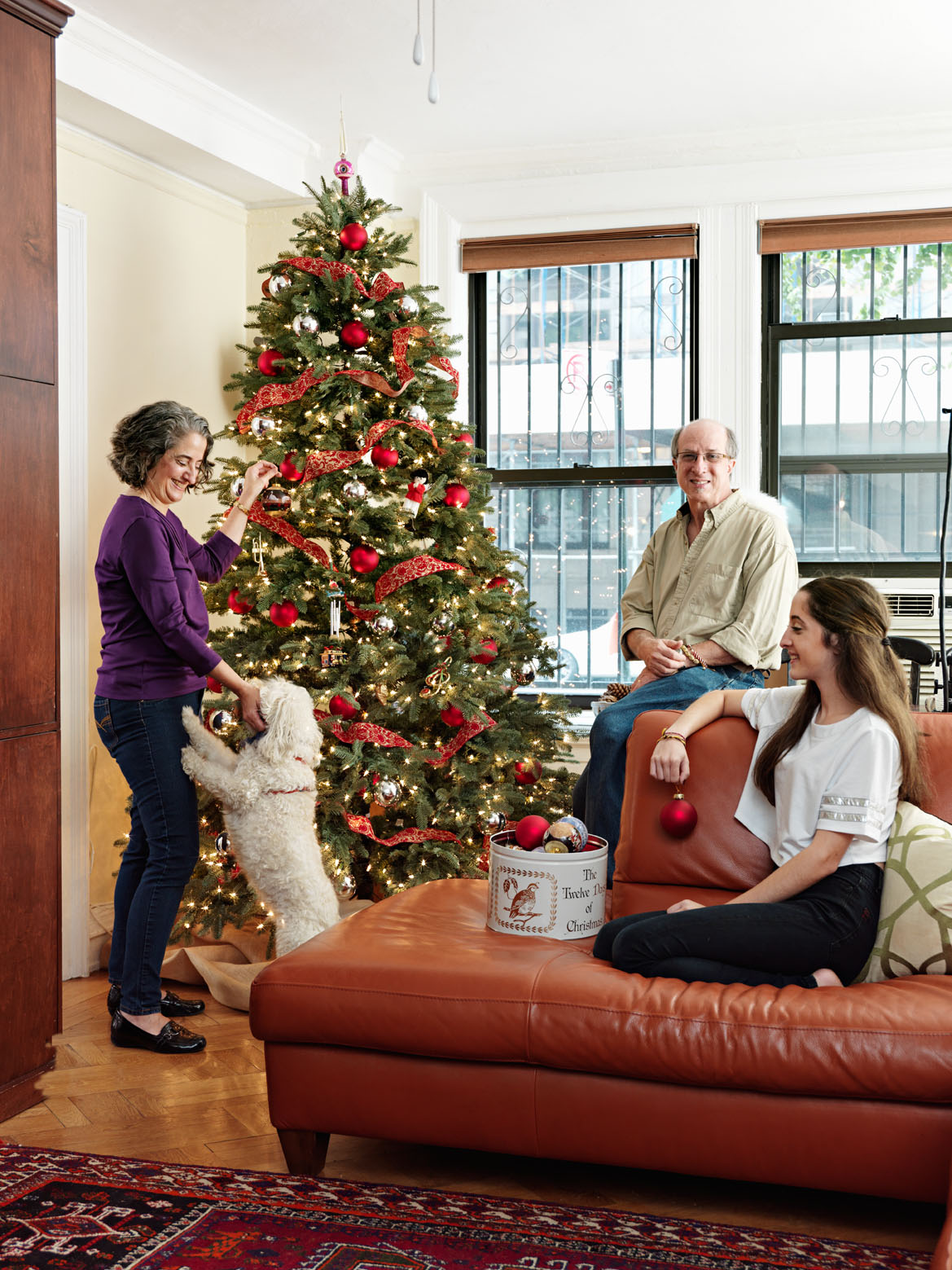 Modern Life: A Dual-Faith New York City Family Juggles Christmas and Hanukkah