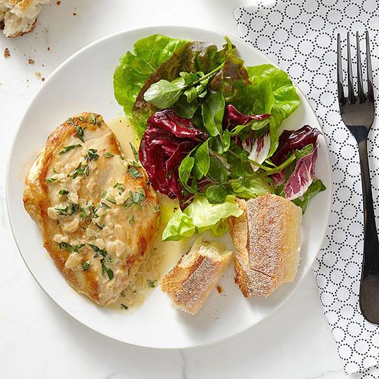 Chicken in Dijon Cream