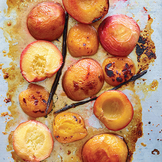 Maple and Vanilla-Roasted Fruit
