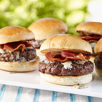 Italian Grilled Burgers