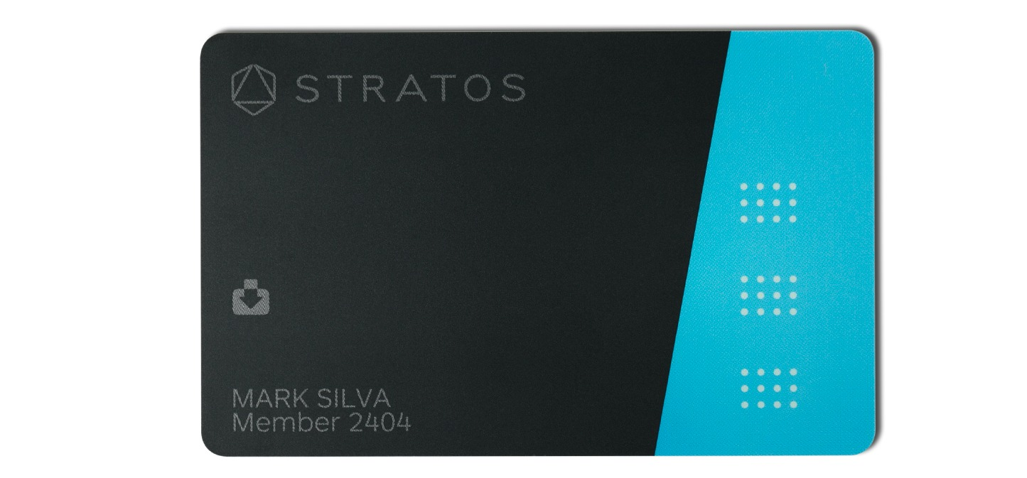 Stratos Bluetooth Connected Card