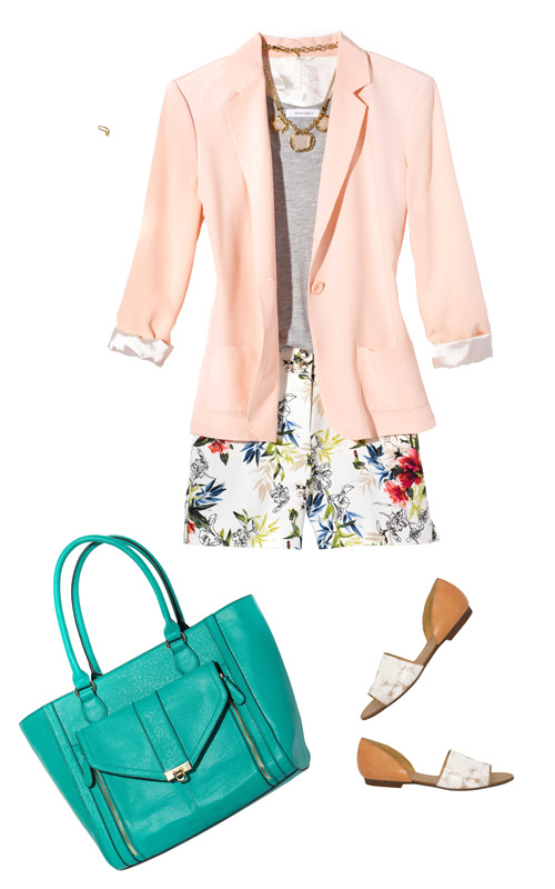 Summer: Colored Blazer