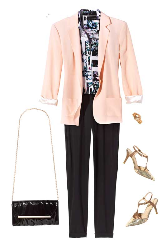 Fall: Colored Blazer