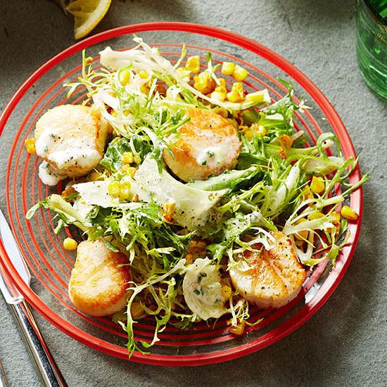 Scallop Frisée Salad