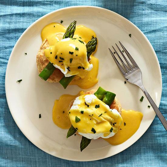 Spring Eggs Benedict