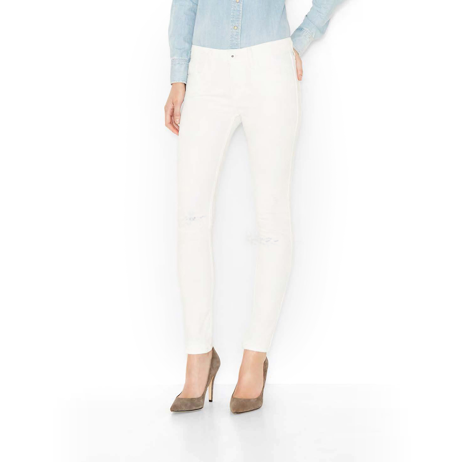 Must-Have of the Month: White Jeans