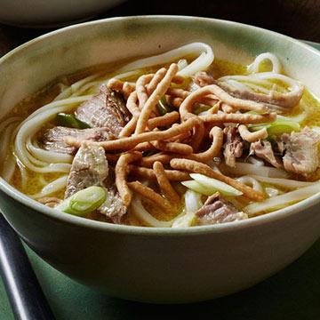 Malaysian Pork Curry Noodle Soup