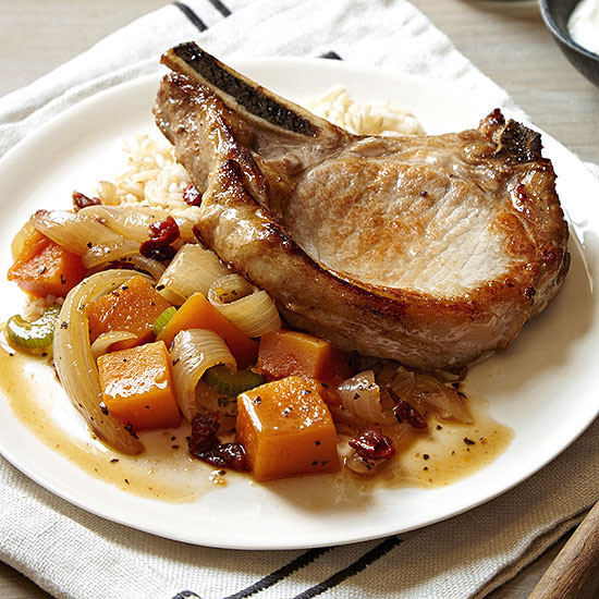 Harvest Pork Chops