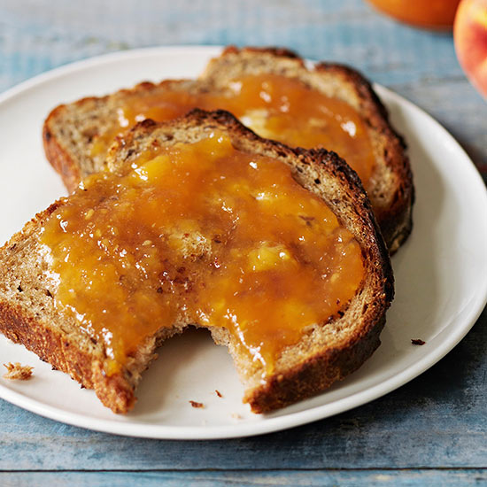 Gingered Peach Jam