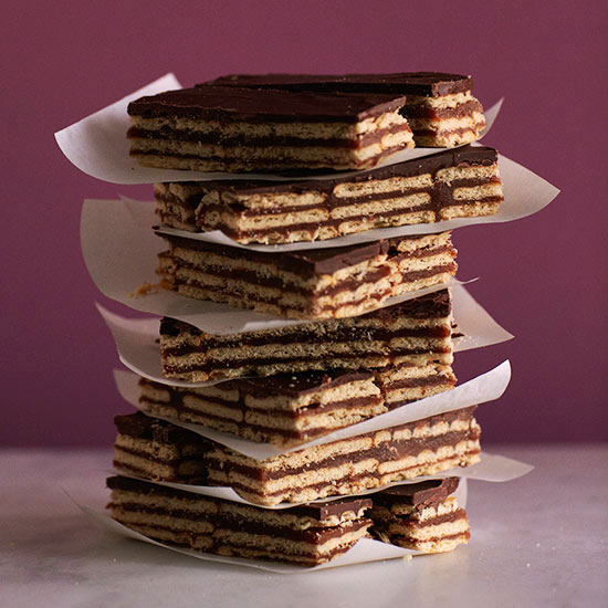 Crunchy Chocolate-Peanut Sticks