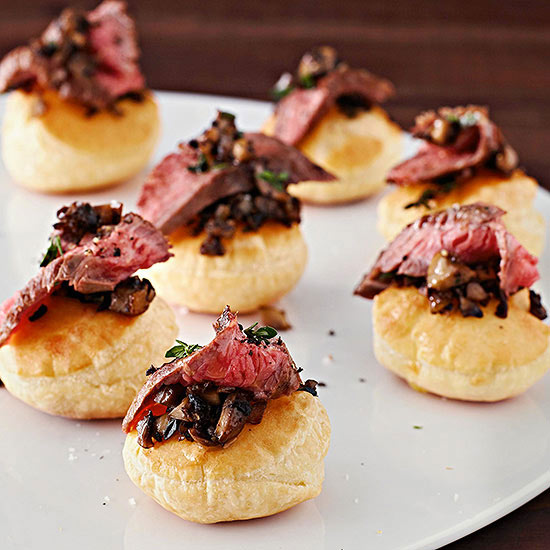 Tasty, Festive Party Appetizers for New Year's Eve